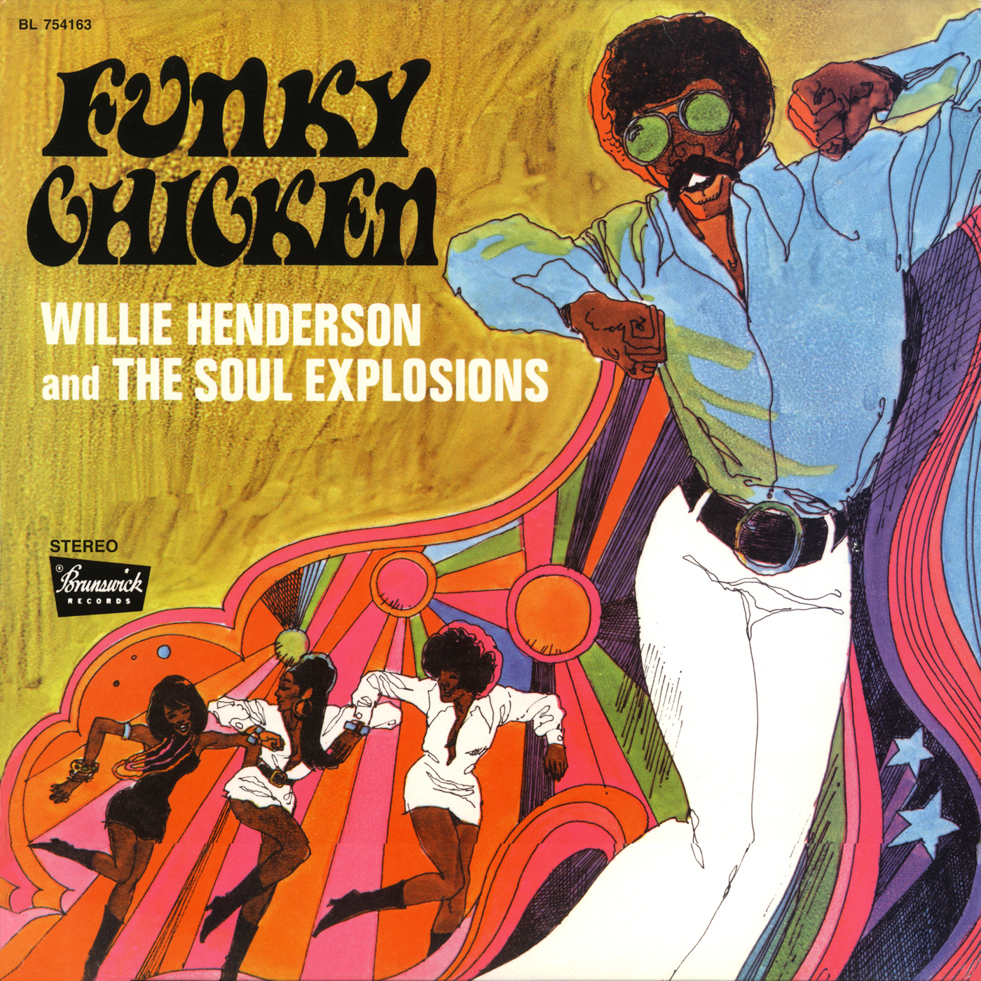 "Willie Henderson And The Soul Explosions ""Funky Chicken"""