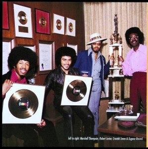 Chi-Lites gold records