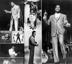 Jackie Wilson photo collage