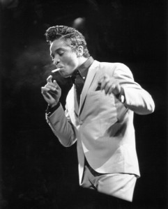 Jackie Wilson smoking