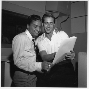 Jackie Wilson with Nat Tarnopol 1