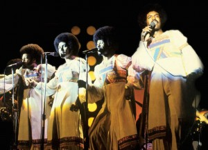 The Chi-Lites at Chicago Black Expo 1974