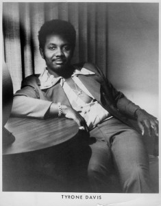 Tyrone Davis relaxing